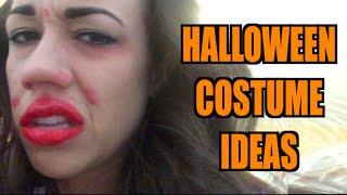 HALLOWEEN COSTUME IDEAS!