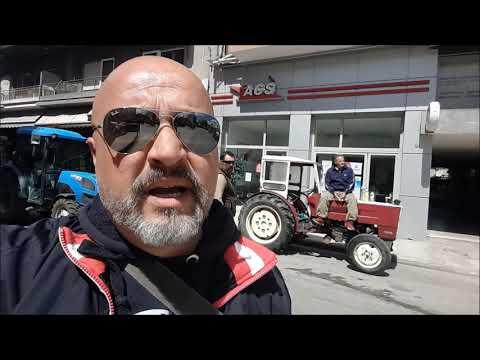 Ο Δήμαρχος Τυρνάβου Γ. Κόκουρας & ο Πρόεδρος Δαμασίου Γ. Τσανάκας μιλάνε για τα προβλήματα των αγροτών & των σεισμοπλήκτων