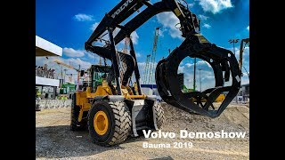 Volvo Demoshow Bauma 2019