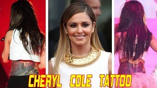 CHERYL COLE TATTOO | CELEBRITY TATTOOS | TATTOOS FOR GIRLS | TATTOO IDEAS FOR WOMEN