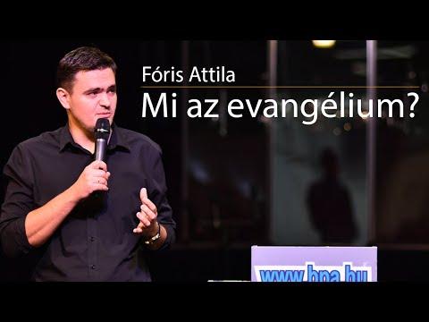 Fóris Attila - Mi az evangélium letöltés
