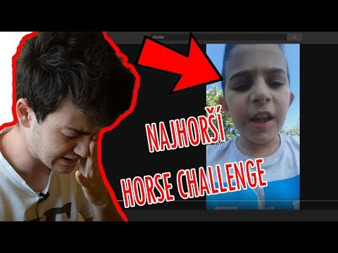 Najhorší HORSE CHALLENGE aký som VIDEL !!!