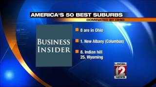 "Eight Ohio suburbs named ""Best Places to Live"""