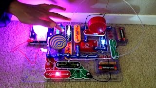Snap Circuits LIGHT Model SCL-175 Review