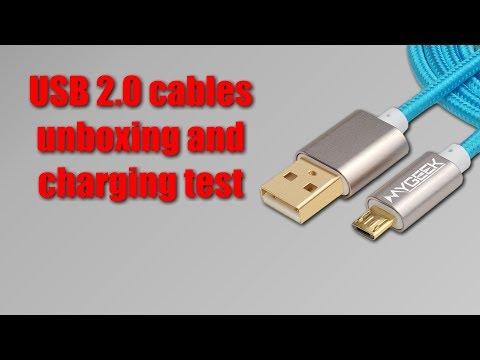 Balíček z Číny ~ USB kabely MyGeek z