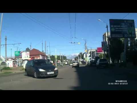 Auto fahren in Russland: Die Schrecksekunde [Video aus YouTube]