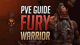 Fury Warrior PVE Guide for BFA Patch 8.1.5 - Best Talents, Stats, Azerite Traits, Rotation, Macros