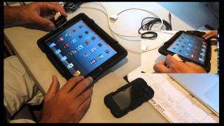 Record and Sample Audio into iPad 2 or 3 With 30 pin adaptor.