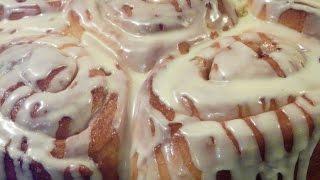 Cinnamon Rolls Recipe, Easy & Best Cinnamon Buns With Glaze By Mazar Cuisine کلوچه دارچینی کلچه