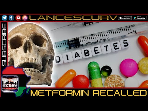 METFORMIN RECALLED FOR THE POISON THAT IT IS!
