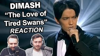 """""""Dimash Kudaibergen - The Love of Tired Swans"""" Singers Reaction"""