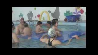 Estimulación temprana en el agua: matronatación
