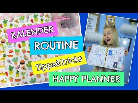 KALENDER ROUTINE 2018 📚 Back to school Tipps ❣ Tricks ❣ Diy | MaVie