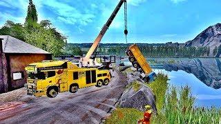 Farming Simulator 2017 - Towing Crashed Truck