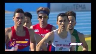 800m [M], FINALE, Marino Bloudek - Europsko prvenstvo za juniore i juniorke 2017