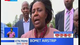 Bomet County to partner with Kenya Civil Aviation to expand the Bomet airstrip