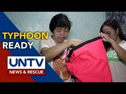 [UNTV]  How to prepare for a typhoon