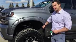 2019 Custom Lifted Chevrolet Silverado High Country 6.2L Crew Cab