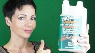 Mit Higloss Calactiv Kalk lösen und entfernen - auch zum Entkalken Ihrer Kaffeemaschine - Tipp -