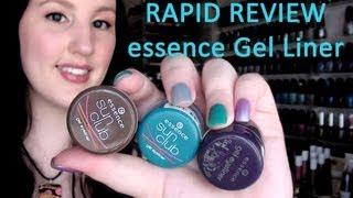 Rapid Review - Essence Gel Eyeliner