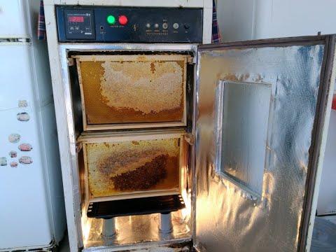 ДЕКРИСТАЛЛИЗАТОР -как растопить прошлогодний мед в рамках- decrystallizer honey.
