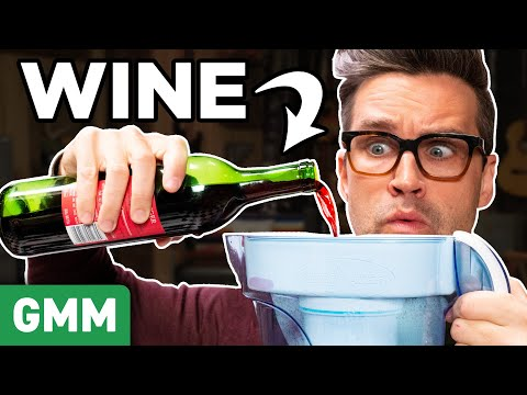 Putting Weird Things Through A Water Filter #2 (TEST)  HD Mp4 3GP Video and MP3