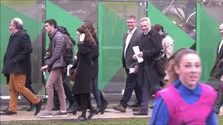 Inauguration du nouveau bâtiment - Pôle espoirs - CREPS de Talence