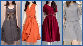 Beautiful Casual Wear Womens Midi Dress Designs And Ideas 2019