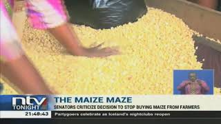 The government has defended its decision to stop buying maize from