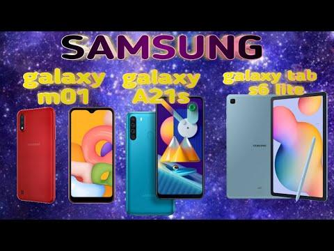 SAMSUNG GALAXY M01 ENG HAMYONBOP MODEL/GALAXY A21S TAQDIMOTI YAQIN/ GALAXY TAB S6 LITE TAQDIM ETILDI
