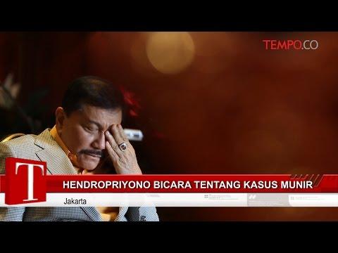 Hendropriyono Bicara tentang Kasus Munir