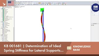 KB 001681 | Determination of the ideal spring stiffness for lateral supports for buckling members