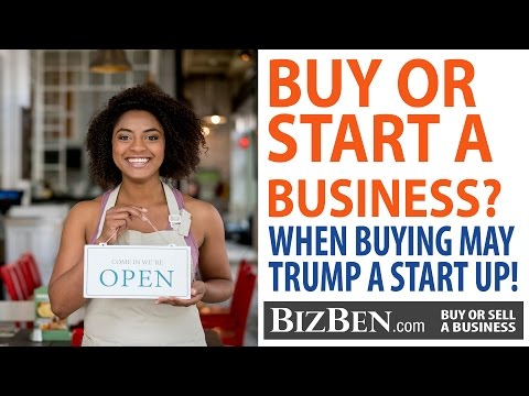The Advantages of Buying An Existing Business | BizBen.com