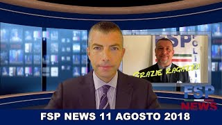 FSP News del 11 agosto 2018