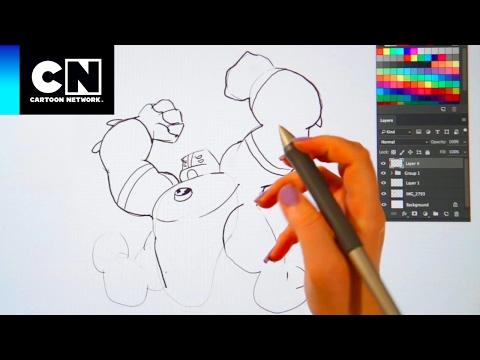 Aprenda a desenhar Quatro Braços! | Ben 10 | Cartoon Network