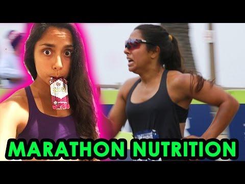 EVERYTHING I ATE DURING MARATHON TRAINING & THE RACE (3:30:09 finish time)