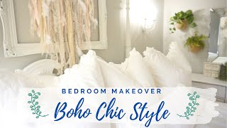 BOHO ROOM MAKEOVER | 2020 CLEAN+DECORATE WITH ME (BOHO CHIC DECORATING IDEAS)