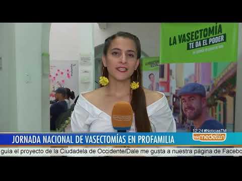 Con jornada nacional, Profamilia espera realizar más de mil vasectomías - Telemedellín
