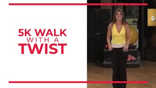 5K With A Twist! 3 1 Mile Walk At Home!