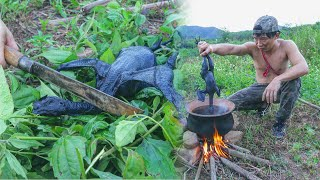 ไก่ดำมังกร ทำเมนูต้มแซ่บ บนหม้อดินโบราณ - dooclip.me