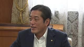 愛媛県原子力防災訓練の参加に係るJAXA国立研究開発法人宇宙航空研究開発機構佐野理事の知事訪問