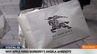 Why Apple Hired Burberry's Angela Ahrendts