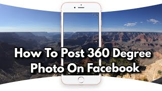 How to Post 360 degree 3D photos on Facebook any Android