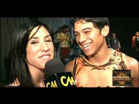 Banda XXI video La Vieja Usina - Entrevista CM 2001