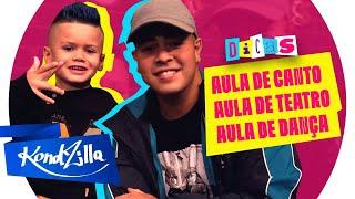 """Jottapê dá dicas para MC Lorenzo do hit """"Não Fica Apaixonadinha"""""""
