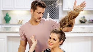 Fiancé Does My Hair| Engaged with JoJo and Jordan