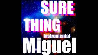 Miguel   Sure Thing (Instrumental)