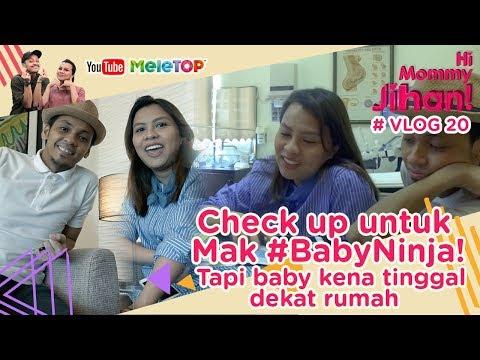 Hi Mommy Jihan Vlog #20 I Check up untuk Mak #BabyNinja! Tapi baby kena tinggal dekat rumah