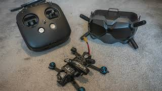 Flight Titan H3 DJI FPV System... trying out Acro mode.
