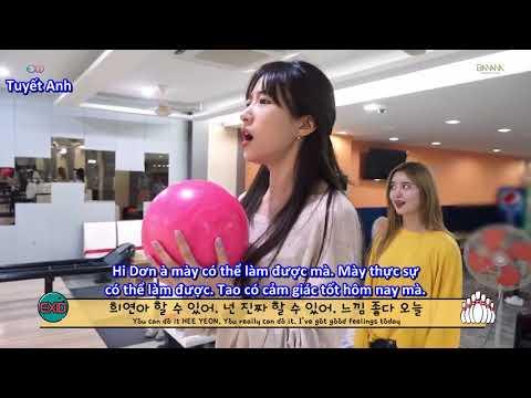 [VIETSUB] Please do tháng 8 - EXID chơi bowling